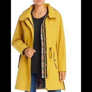 NWT Pendleton Bodega Bay Golden Hooded Trench Coat